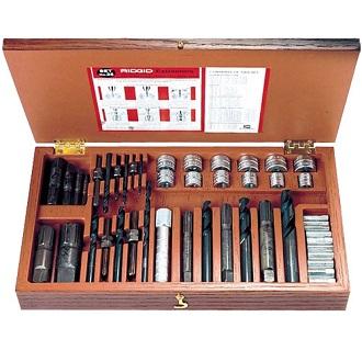 Комплект экстракторов для винтов и труб, модель 25