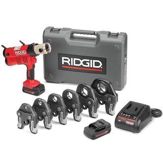 RP 340-B + кейс + аккумулятор + зарядное устройство + пресс-клещи V 15 - 18 - 22 мм