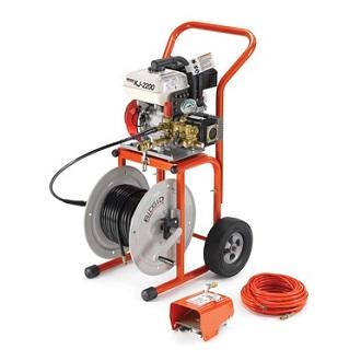Гидродинамическая прочистная машина KJ-2200 с режимом пульсации