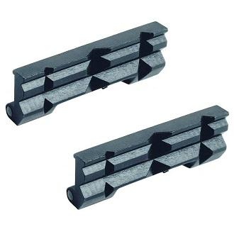 Защелкивающиеся стальные призматические губки